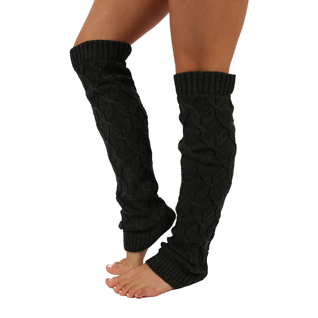 Keep Me Cozy Leg Warmer in Charcoal