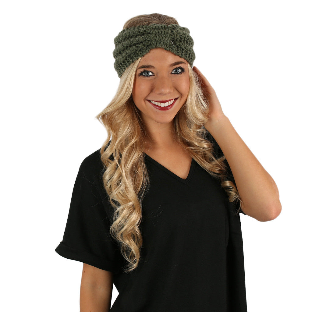 Vail Getaway Headband in Green