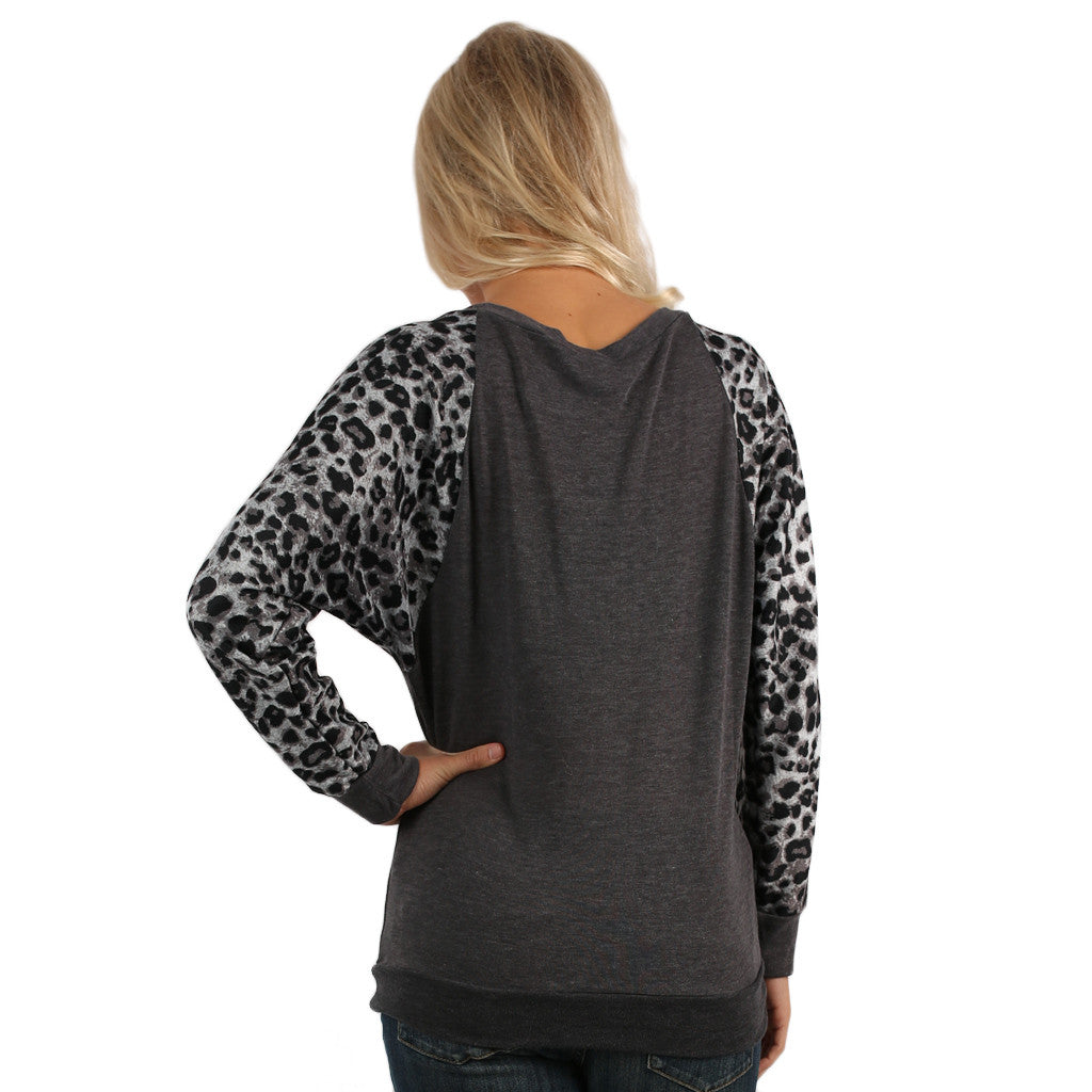 Leopard Sweater University of Tennessee