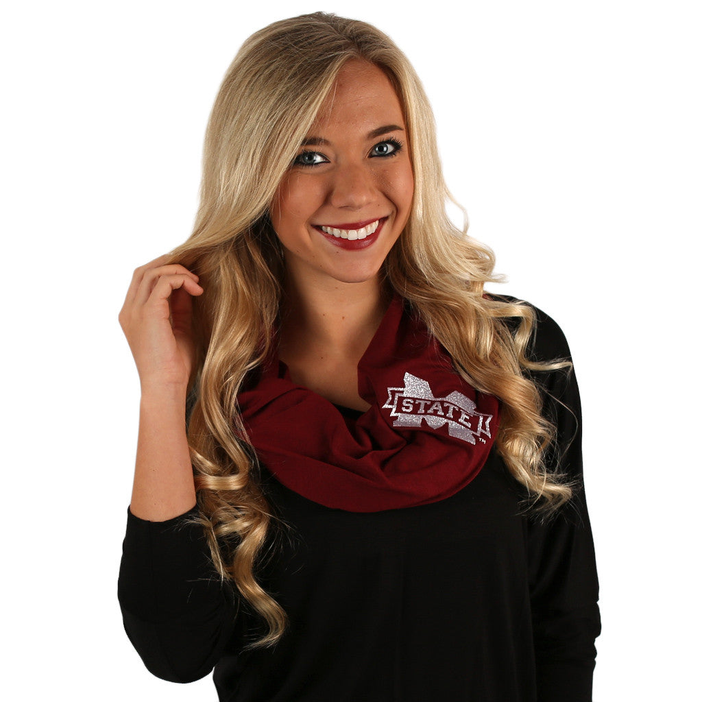 Infinity Scarf Mississippi State