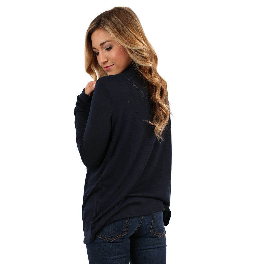Ladies' Night Out Top in Navy