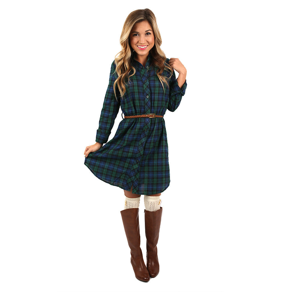 Cabin in Vail Dress