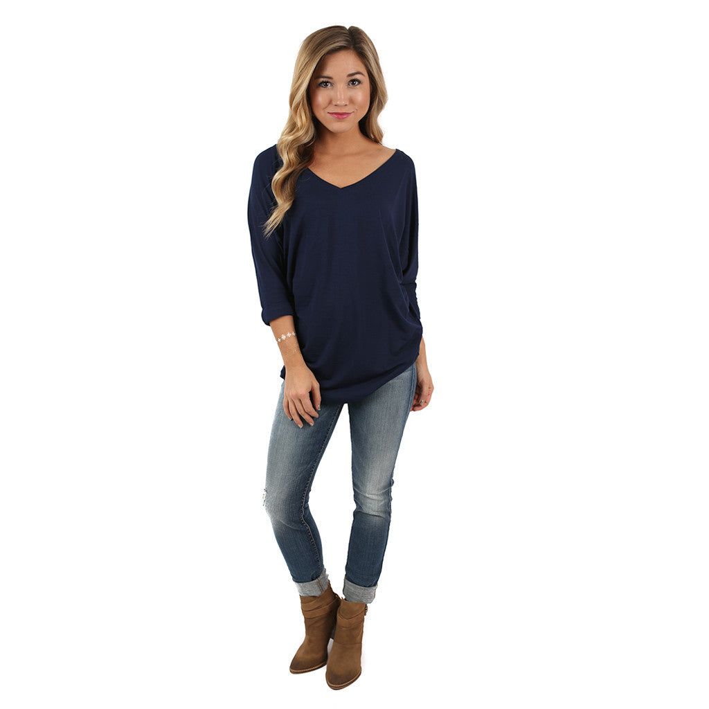So Dreamy Tunic Navy