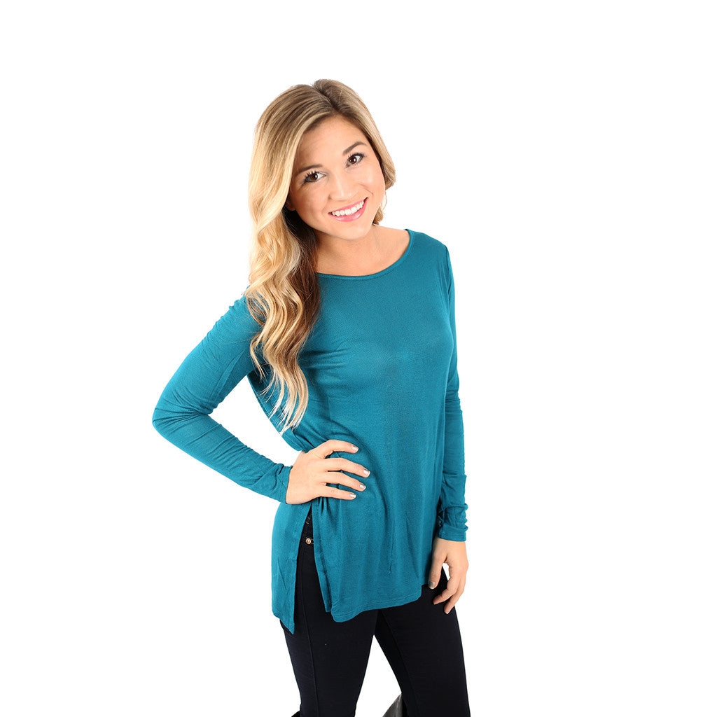 The Perfect Everyday Tunic Teal