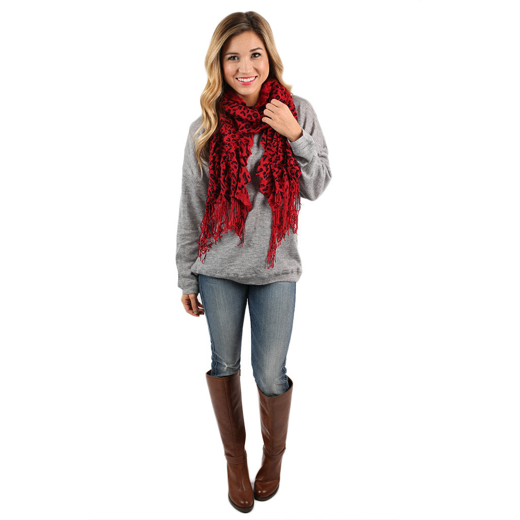 PIKO Dolman Thin Sweater in Heather Grey