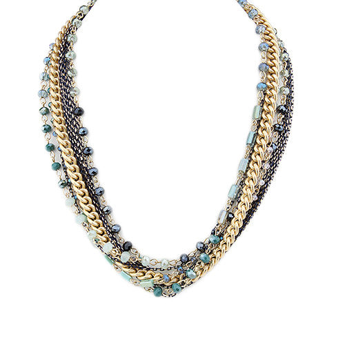 Santa Catalina Necklace Teal