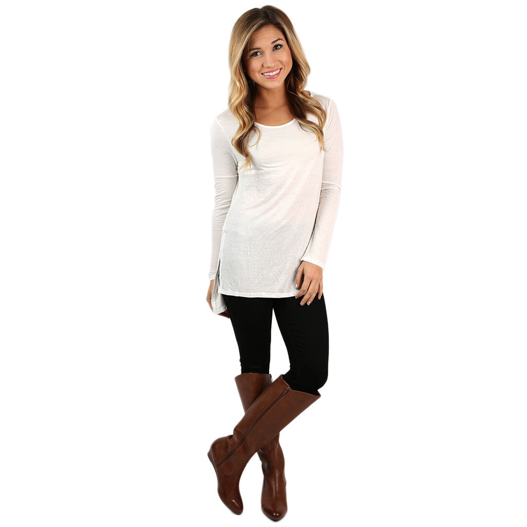 The Perfect Everyday Tunic Ivory