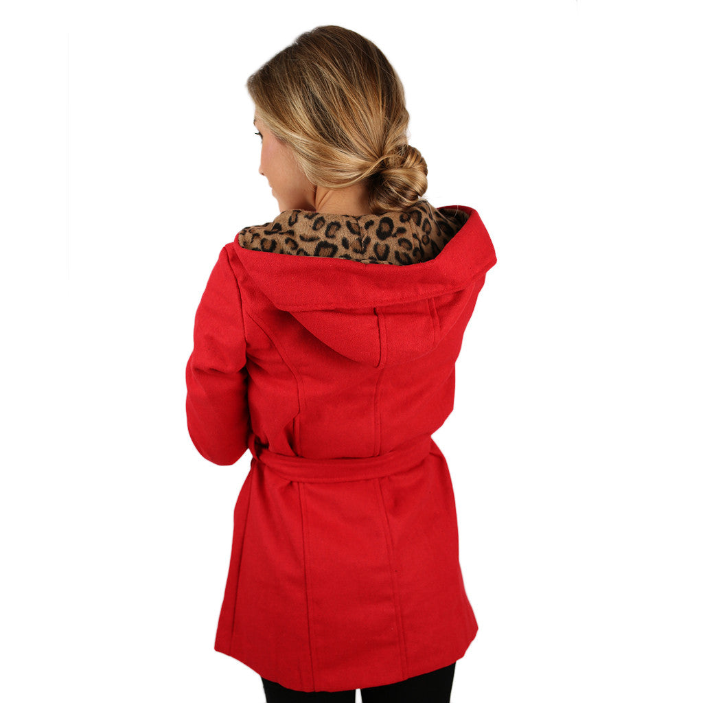 Glamorous Nonstop Coat Red