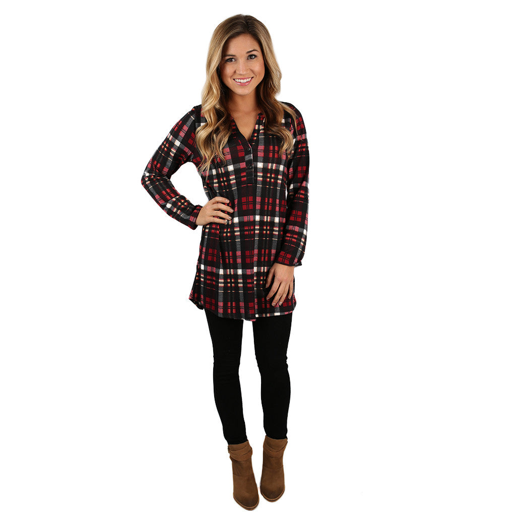 Home is Where the Cozy Is Tunic Dress