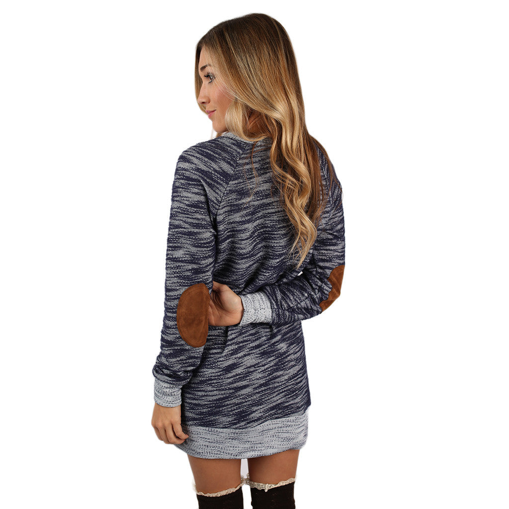 My Favorite Season Tunic Dress in Royal Blue