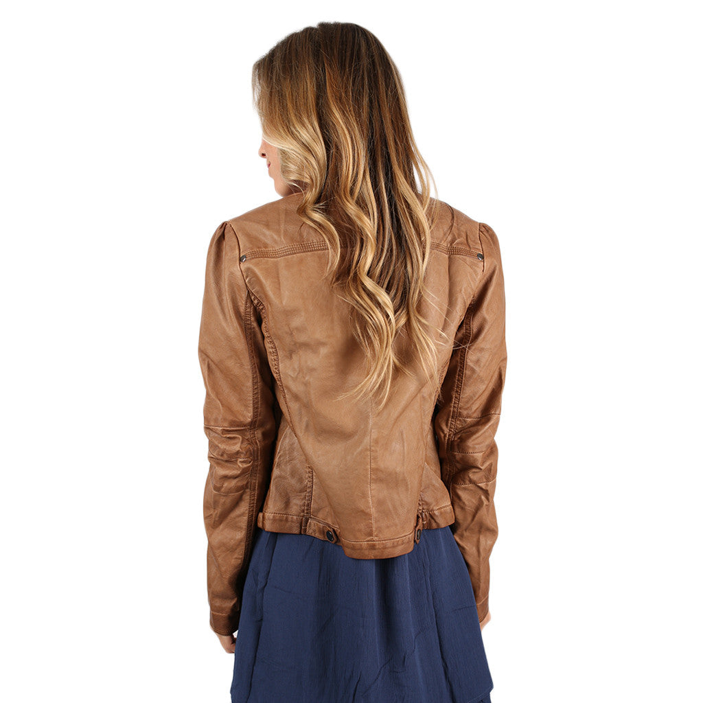 Rebel With A Cause Faux Leather Jacket