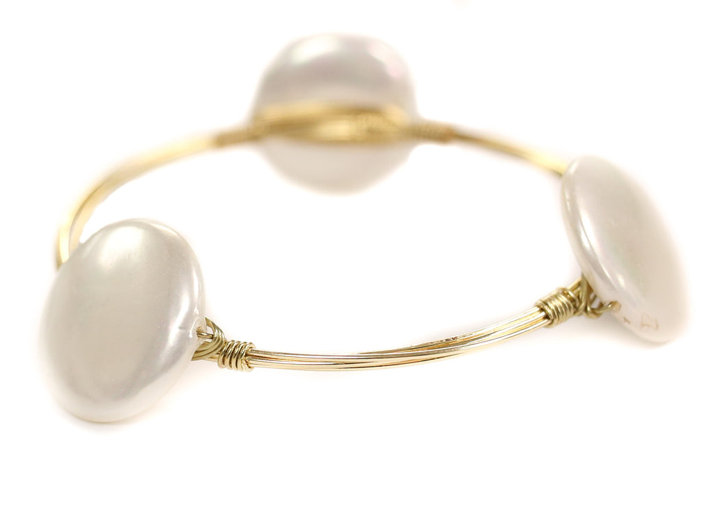 Lady Pearl Bangle
