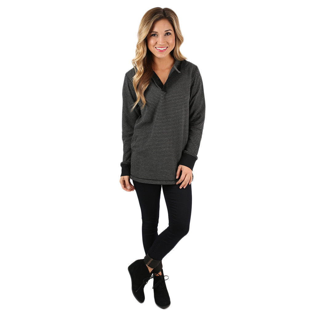 Love & Lattes Unisex Thermal Charcoal