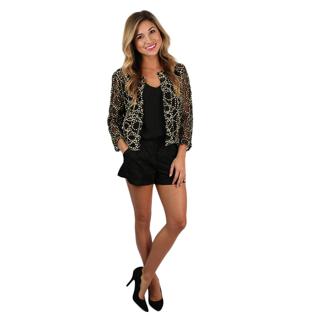 Enchanting Evening Jacket Gold