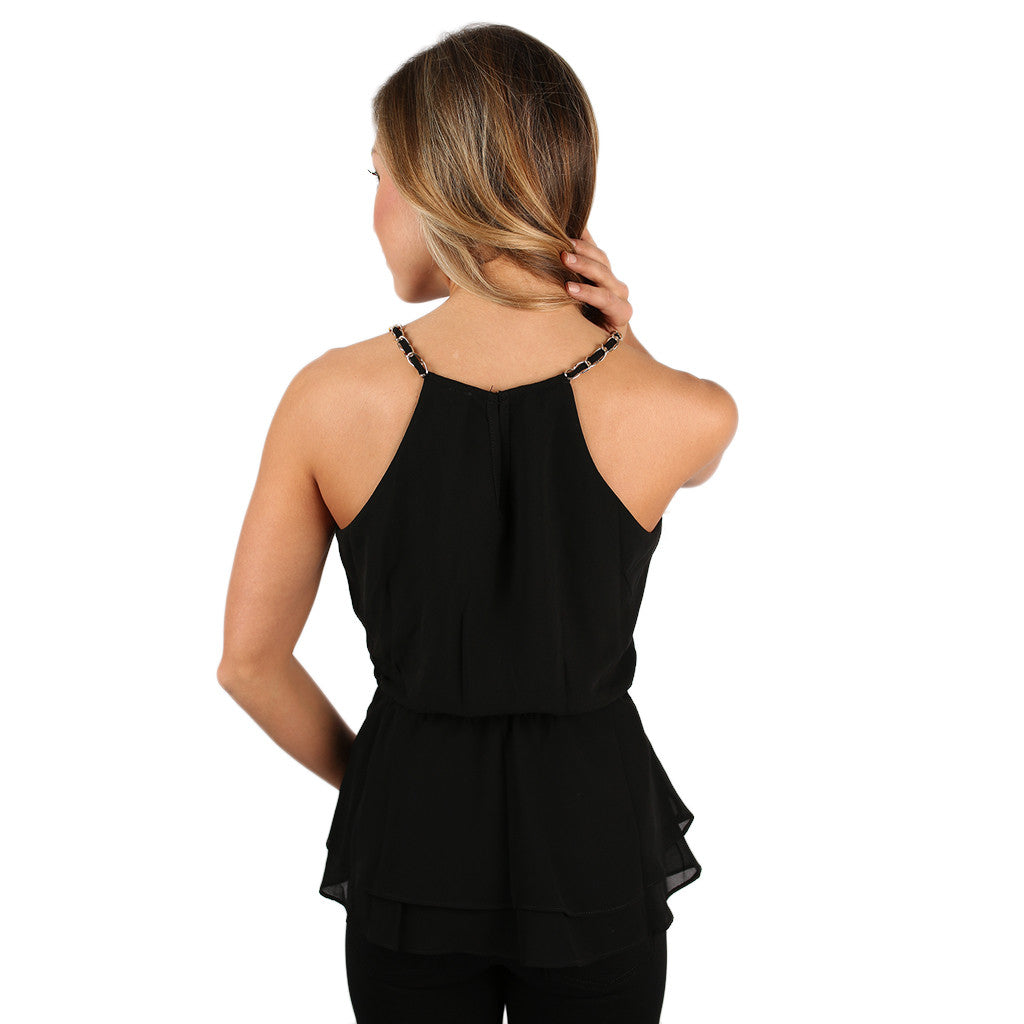 Oh My Chic Top Black