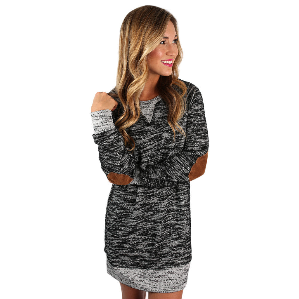 My Favorite Season Tunic Dress in Black