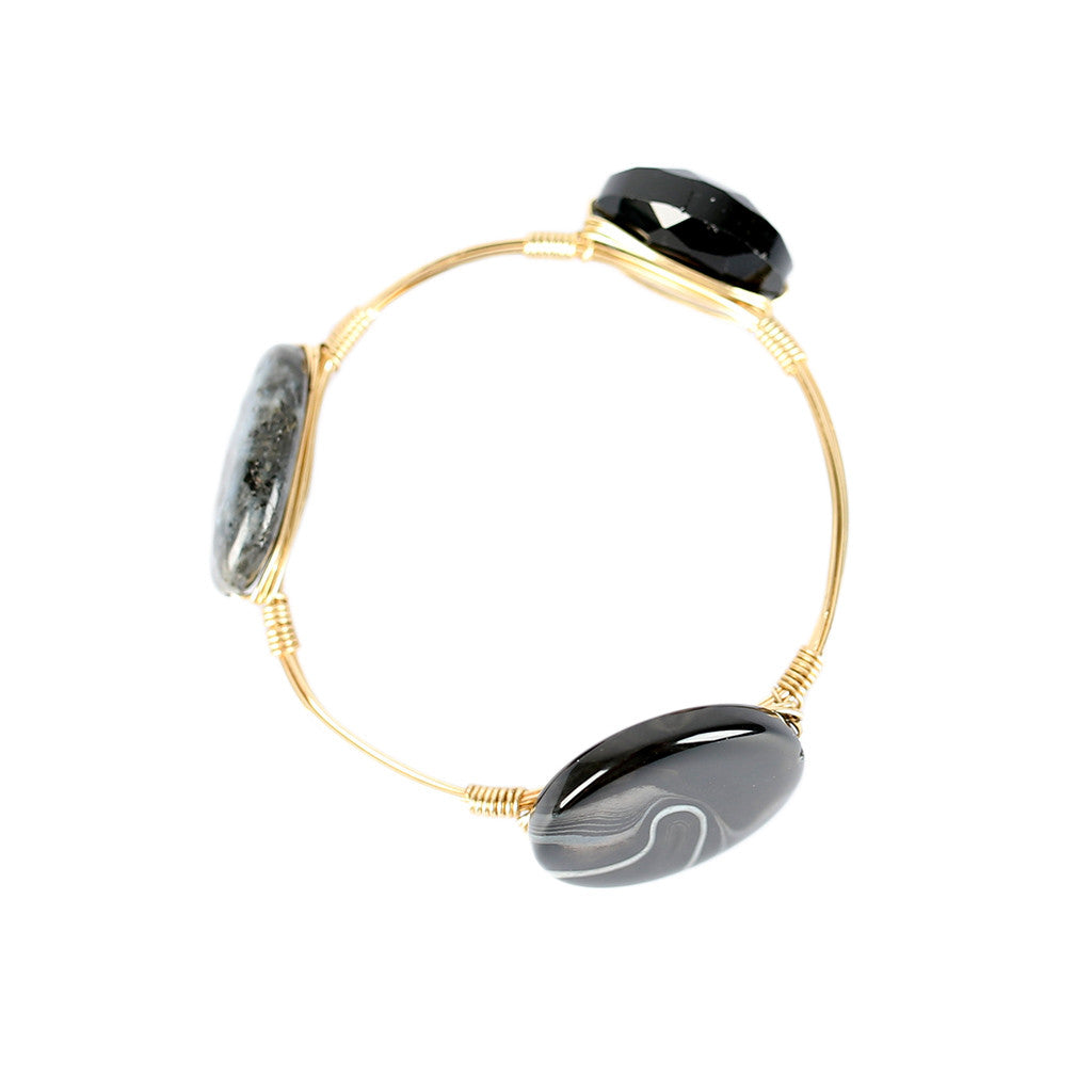 Beauty Stone Bangle