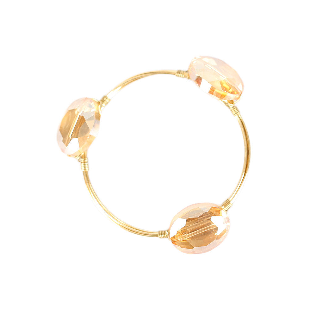 Graceful Bangle Topaz