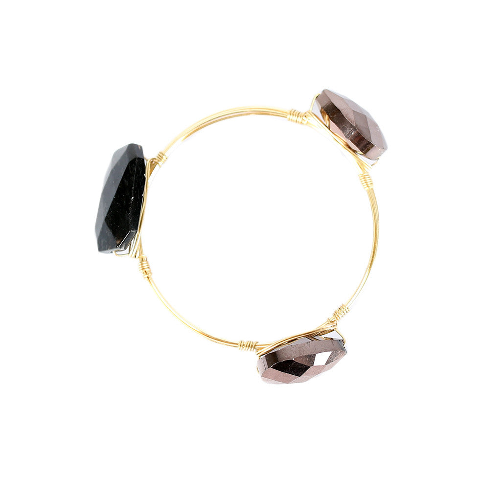 To the Moon and Back Bangle