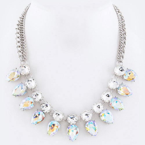 Sparkling at its Best Necklace Aurora Borealis