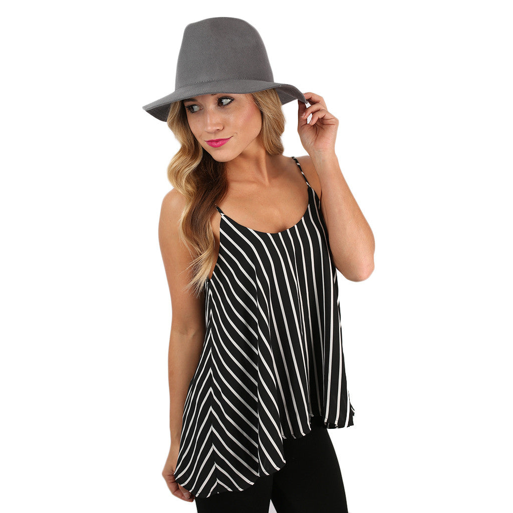Striped to Please Tank