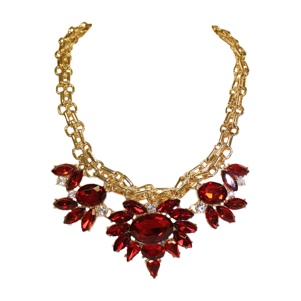 Feeling Iconic Necklace Red