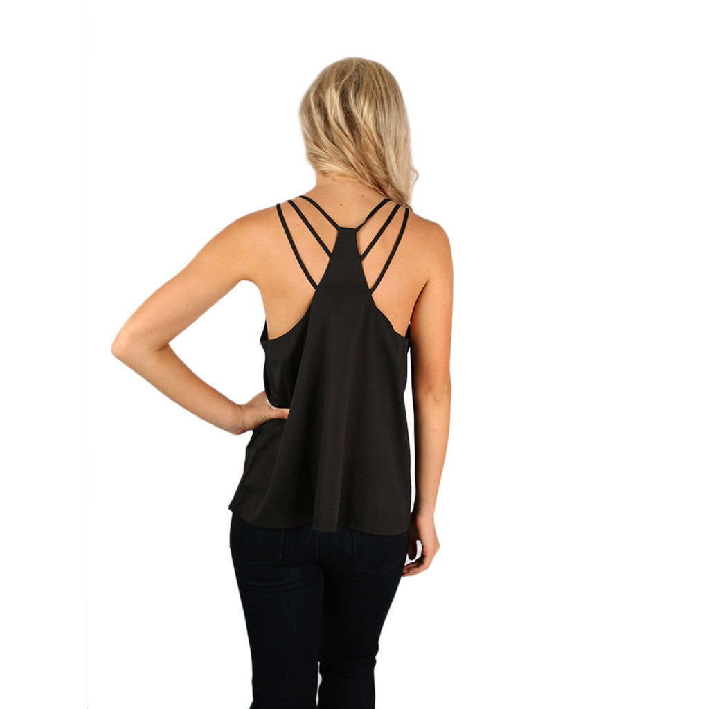 Bahama Tank in Black