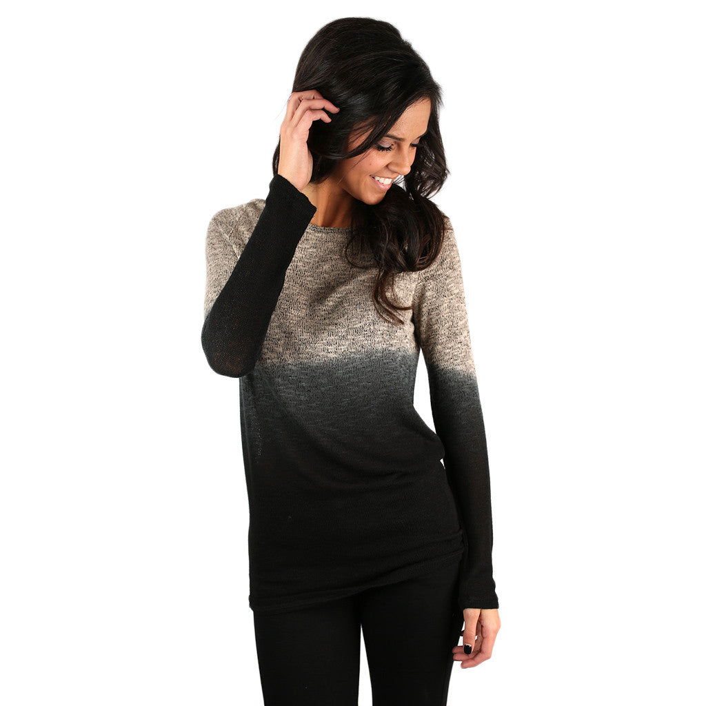 Fairytale Ombre Sweater Tunic
