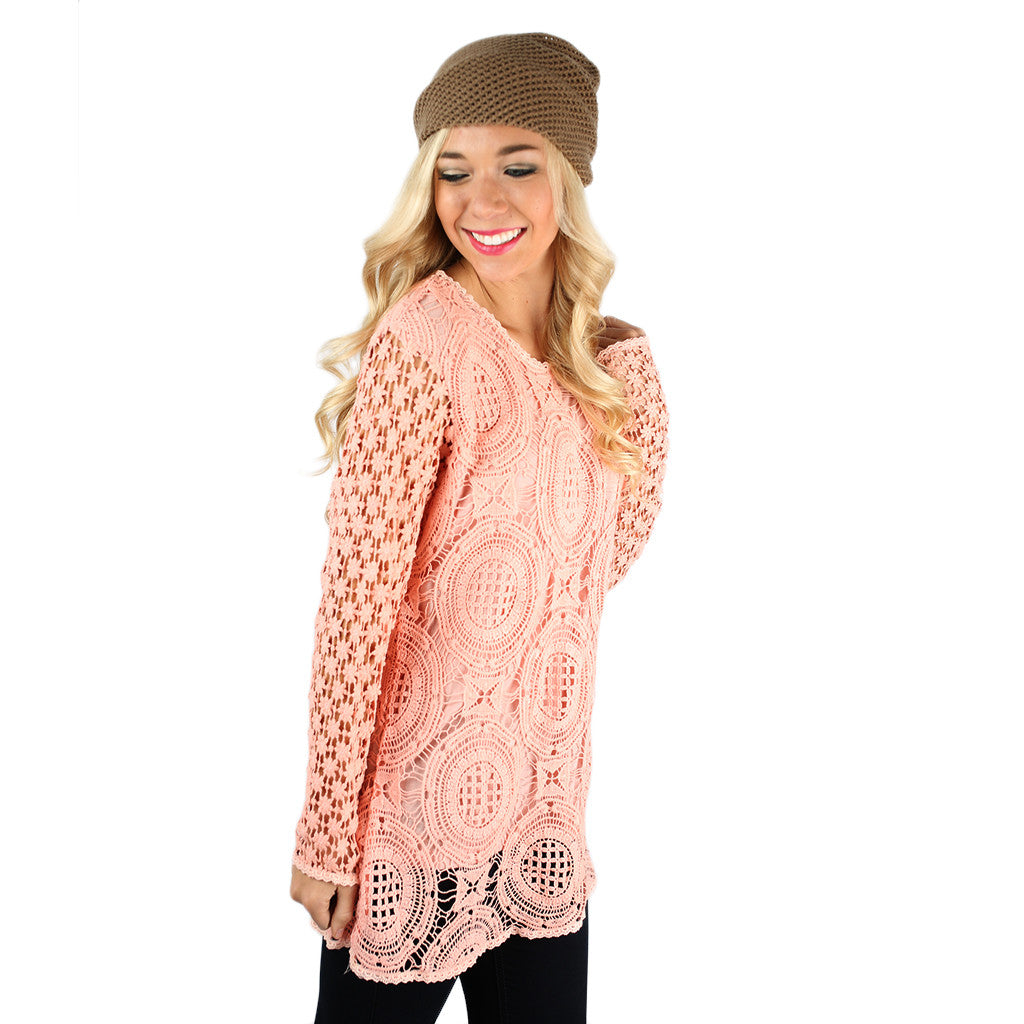 Fashion Innovator Lace in Peach