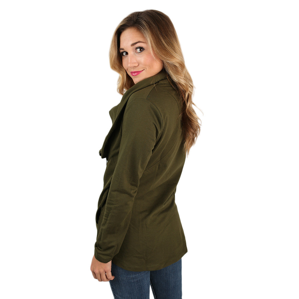 What I've Been Looking For Jacket in Olive