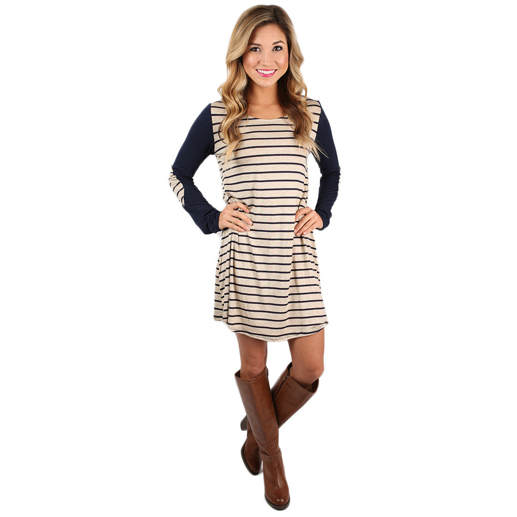 You're Not Dreaming Shift Dress in Oatmeal
