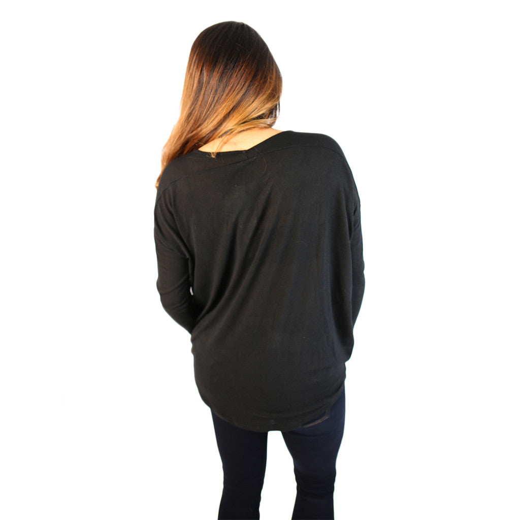Simply Sweet Tee Black