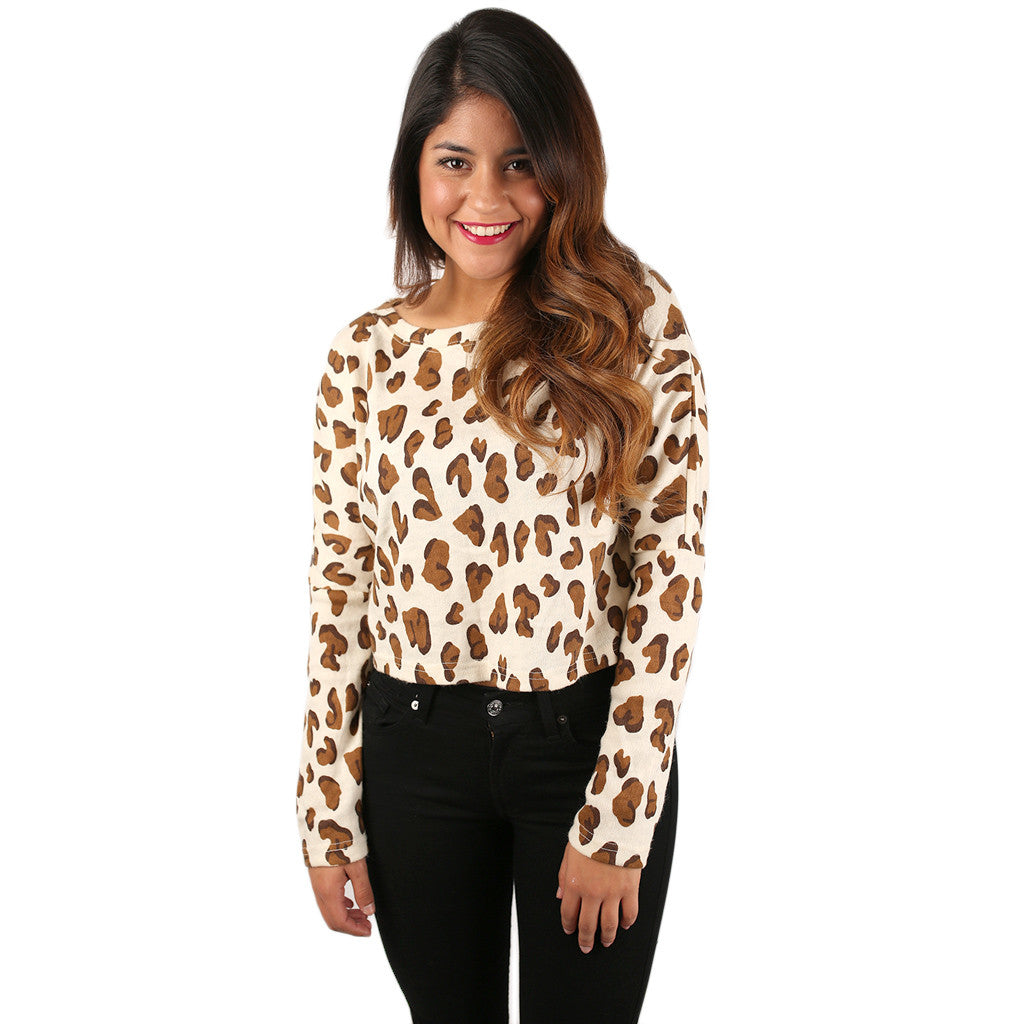 Cheetah Chic Ivory