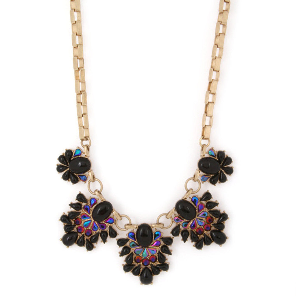Feeling Inspired Necklace in Black