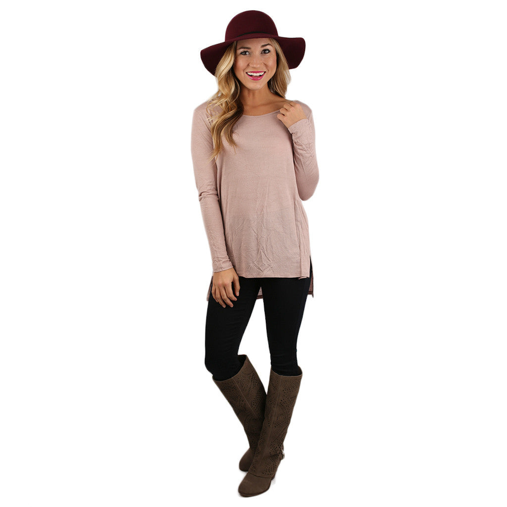 The Perfect Everyday Tunic Blush