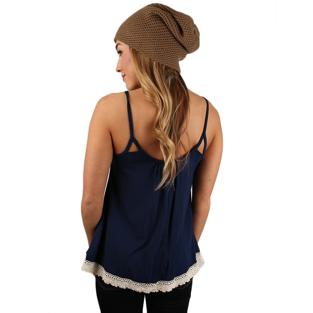 Ready To Rally Tank in Navy