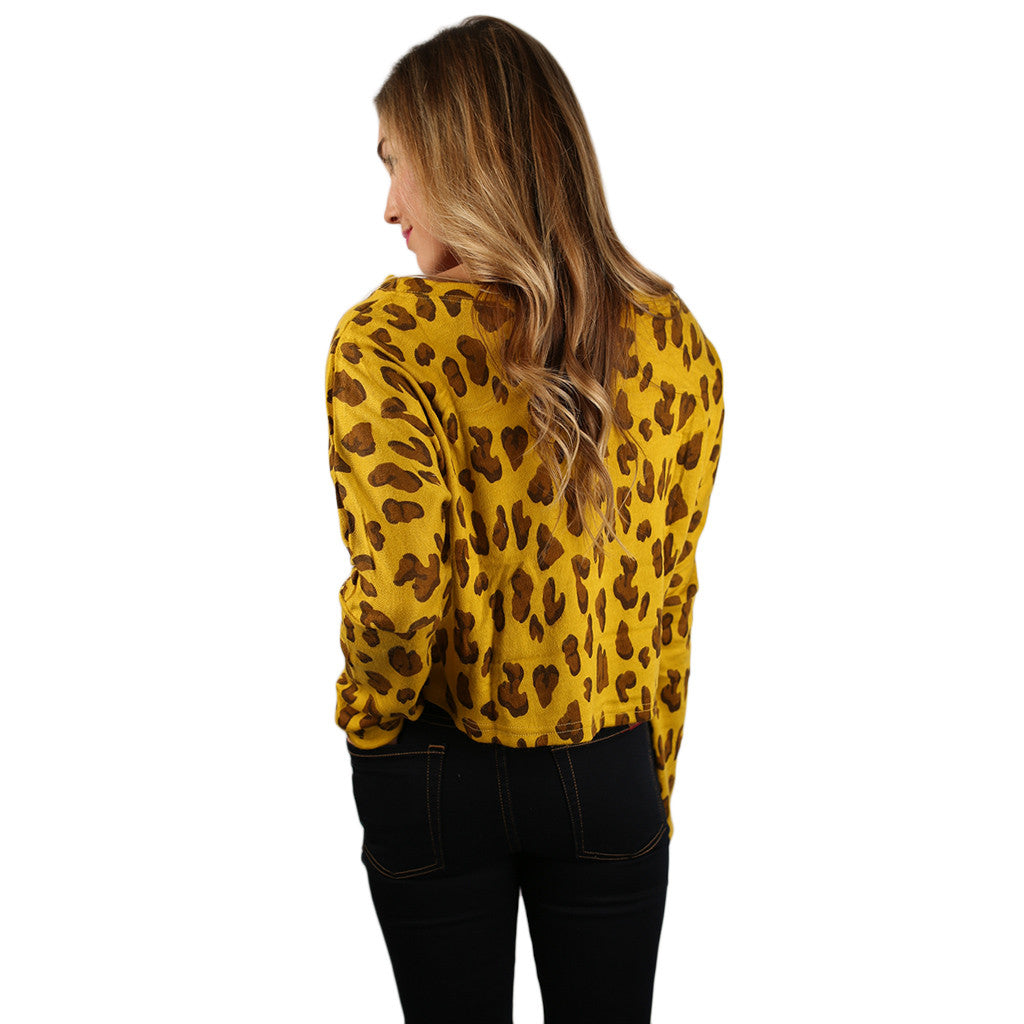 Cheetah Chic Mustard