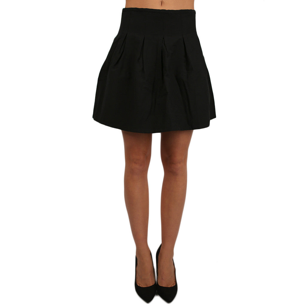 Feeling Cheerful Skirt Black