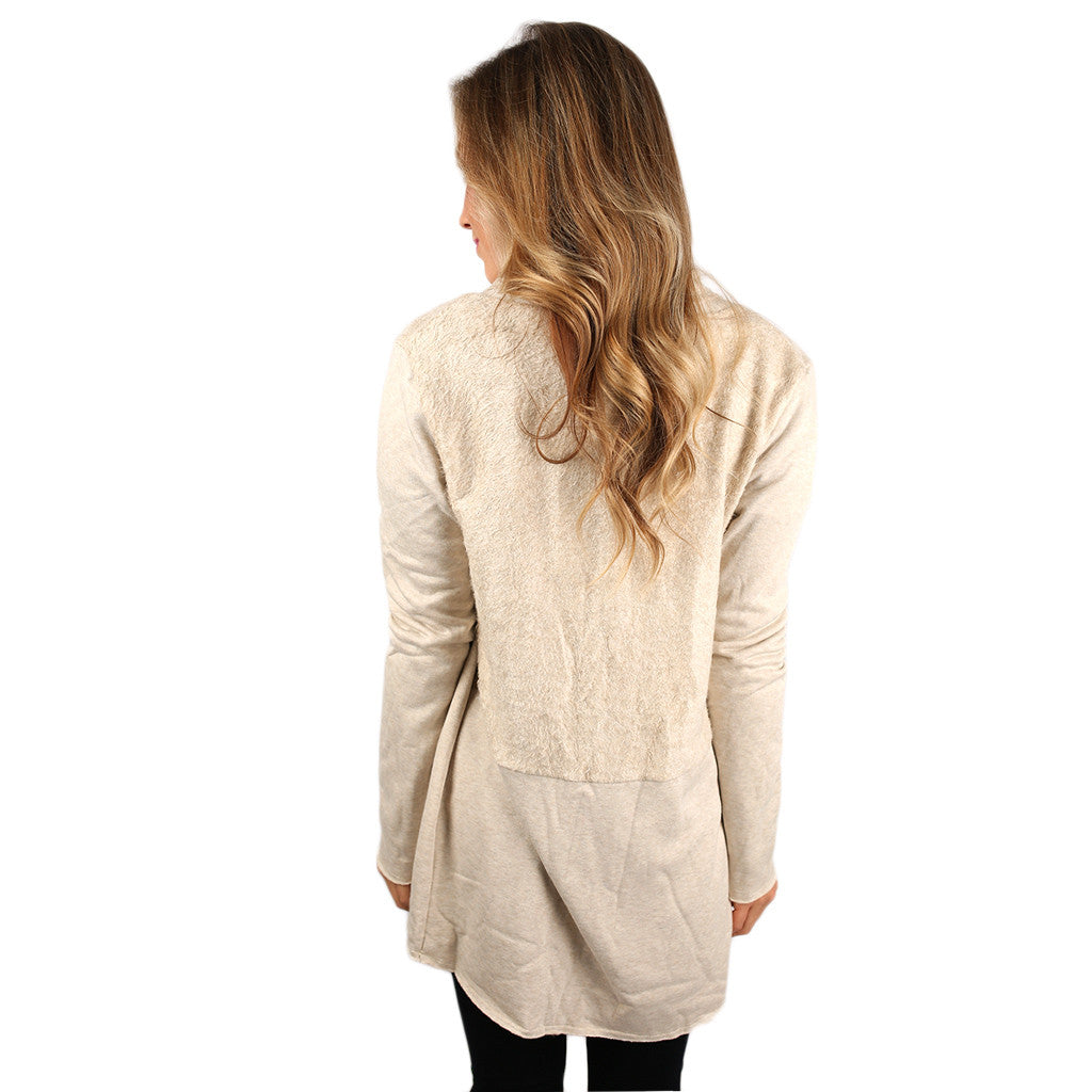 Cozy Obsession Fleece Lined Cardigan
