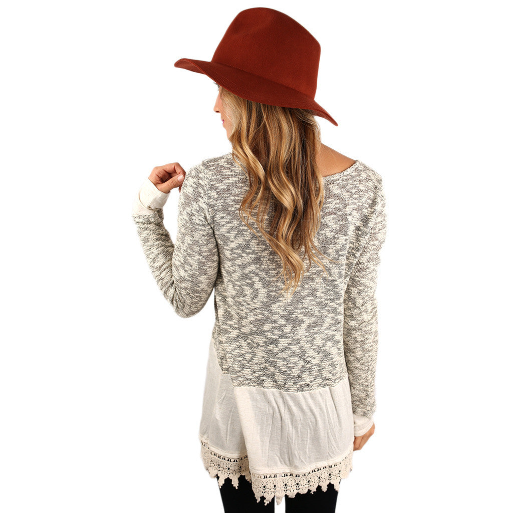 Forever Fanciful Sweater Top