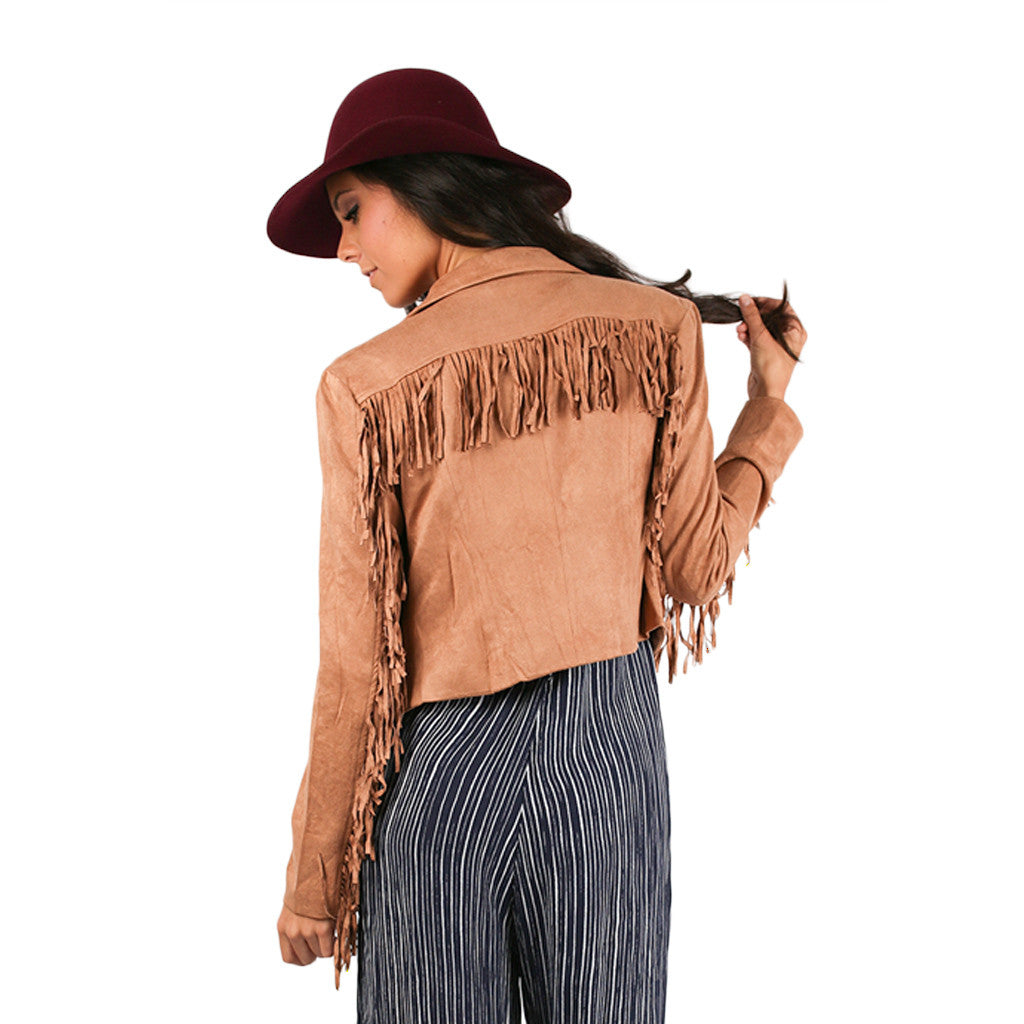 Heavenly Fringed Jacket