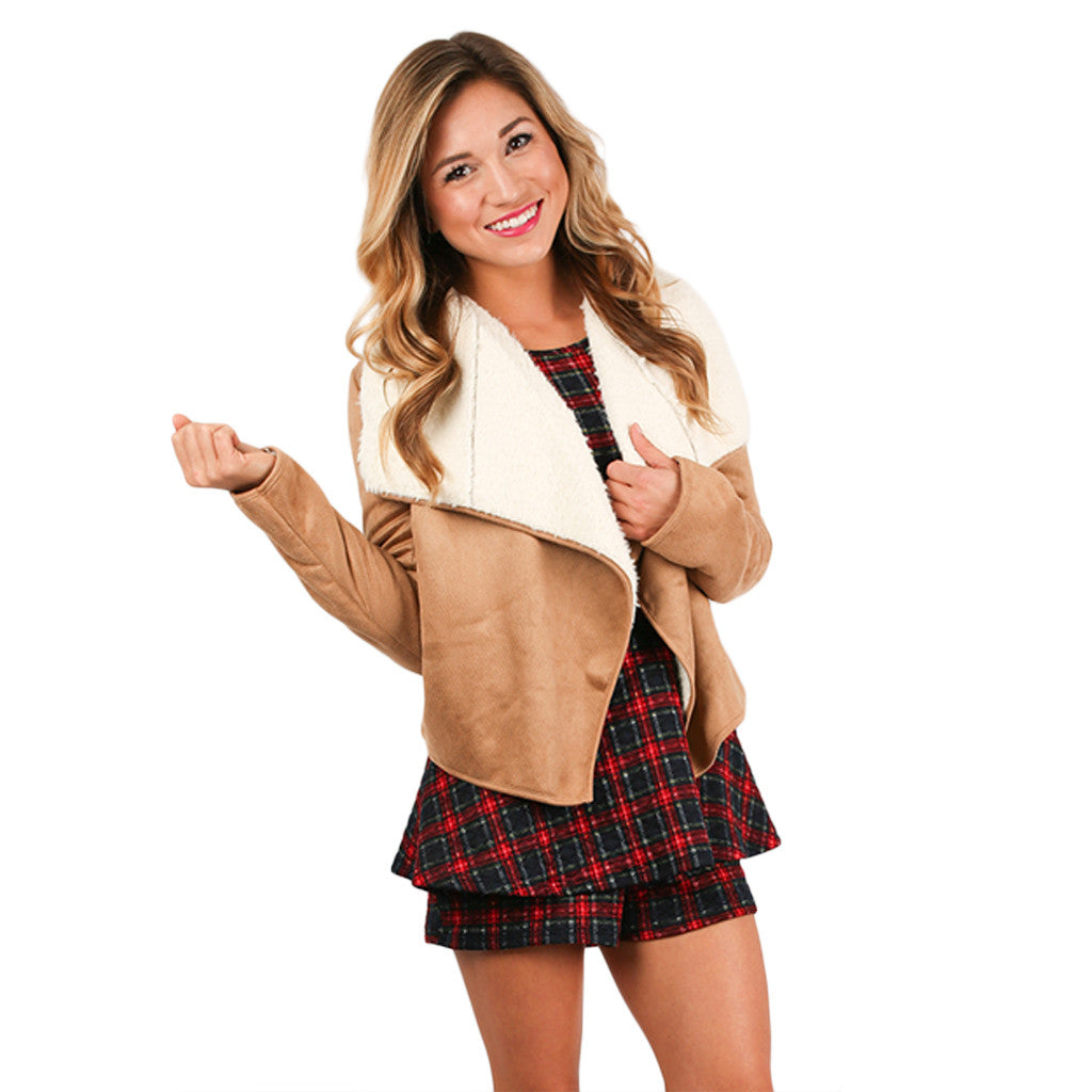 PIKO Faux Fur Jacket