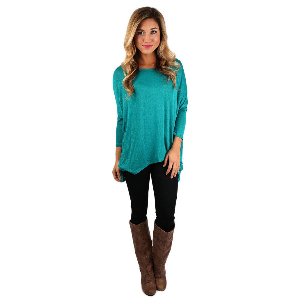 Oh So Luxurious in Teal