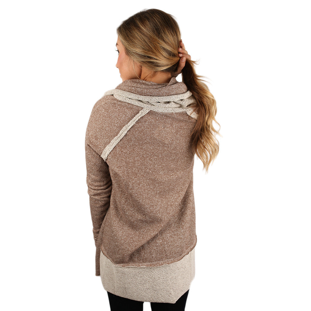 Cozy on the Slopes Sweater in Mocha