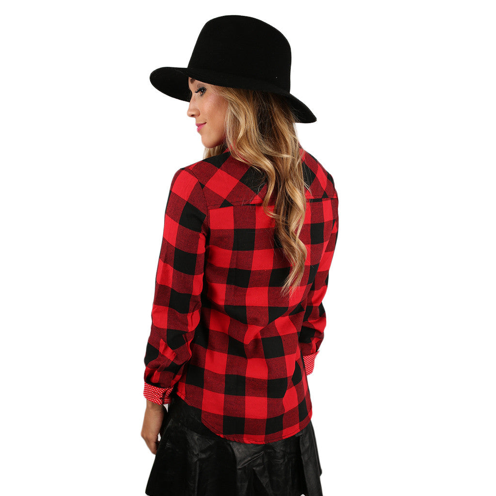 Cozy Days Are Coming Flannel