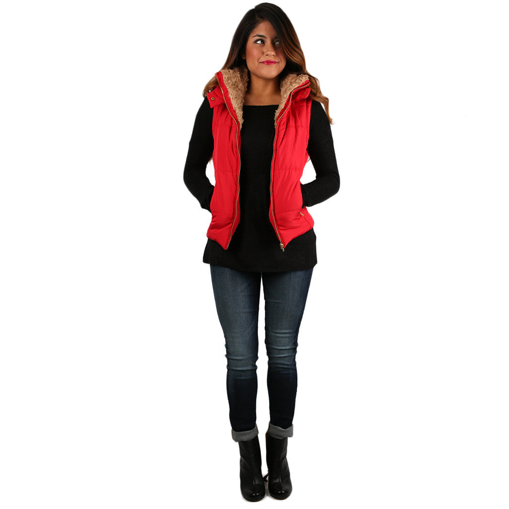 Best Dressed Vest Red