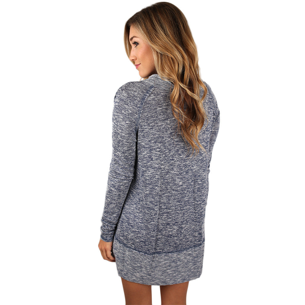 Glamorous Cozy Sweater in Navy