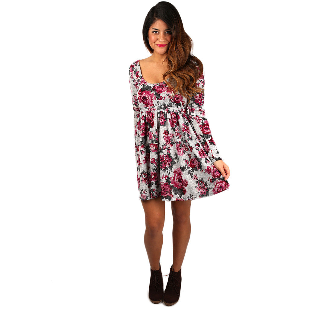 Winter Crush Babydoll Dress