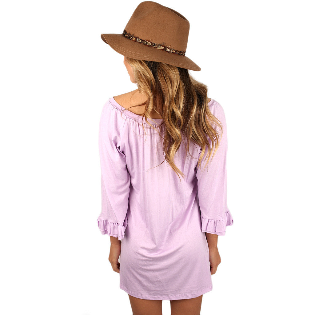 Cheer On Tunic in Violet