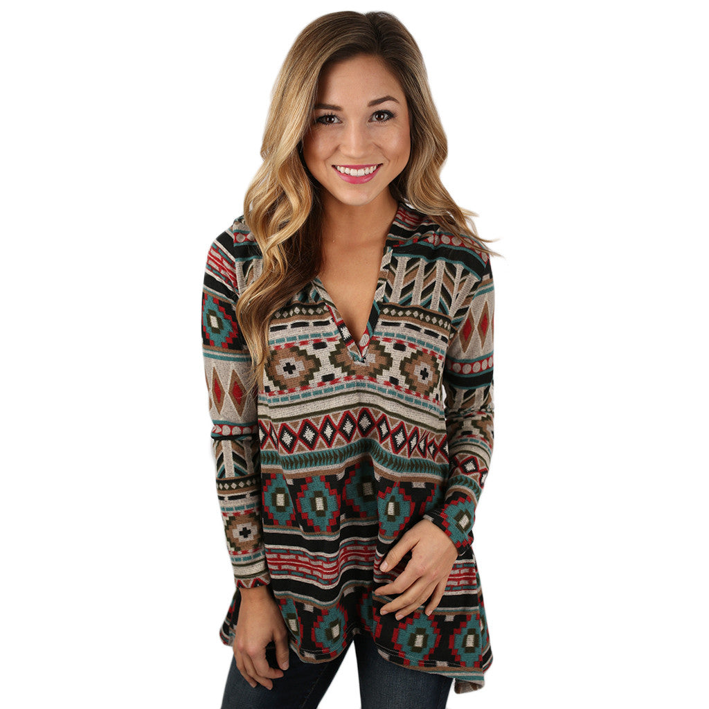 Your Secret's Safe Pullover Taupe